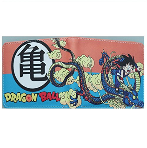 Cartera Billetera de Bandai Dragon Ball Goku Niño Naranja: Amazon.es: Equipaje
