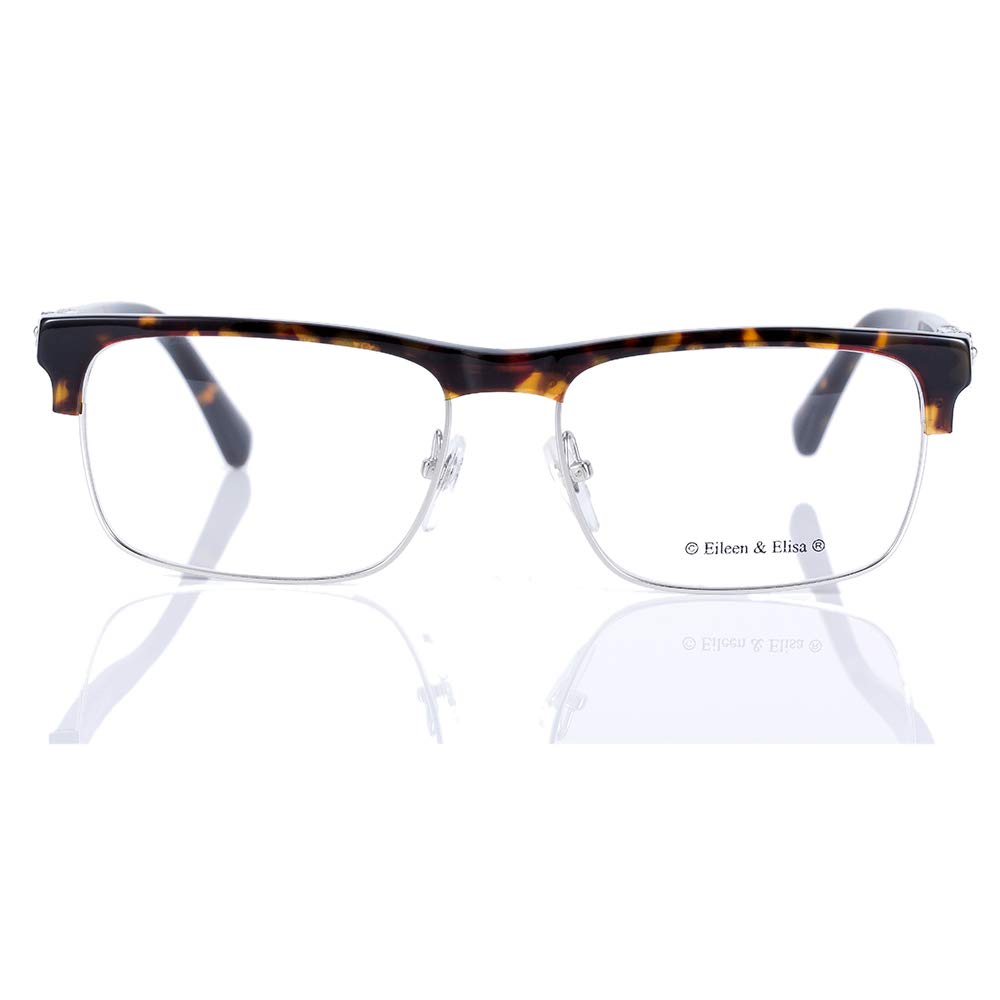 8bfd0f8f1c4 Amazon.com  Eileen Elisa Classic Retro Glasses Frame