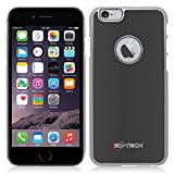 iPhone 6 & 6S Case, Armor Slim Chrome Impact Resistant (BLACK)