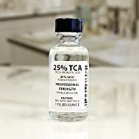 Trichloroacetic Acid Solution TCA 25% Chemical Skin Peel (1 Ounce) by Erlenmeyer's Laboratory