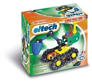 eitech 00329 - Kit de construcción de excavadora de plástico [importado de Alemania]