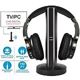 Best Headphones Tvs - Rybozen Wireless TV Headphones 2.0 Over Ear Cordless Review