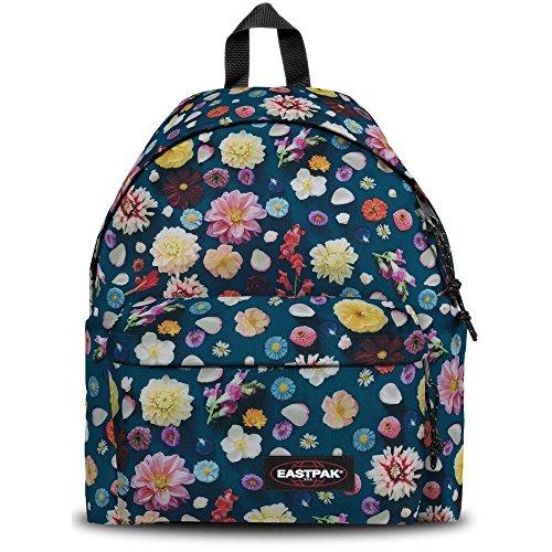 bbb56946664 EASTPAK Padded Pak'R Backpack Navy Plucked Flowers Schoolbag EK620-75R  EASTPAK Bags