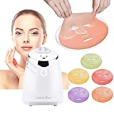 Facial Mask Maker - HailiCare Facial Mask Machine - DIY Natural and Organic Masks with 32 Counts Collagen Tablets - Luxury Gift for Valentine, Women, Mom, Teen Girl, Birthdays (Full Kit)