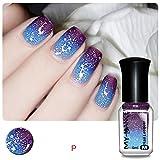 Hemlock Nail Polish, Shinning Nail Cosmetic Nail Beauty Polish (M)