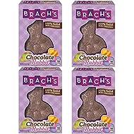 Brach's Chocolate Rabbit Candy, Milk Chocolate, 2.5 Ounce (Pack of 4)