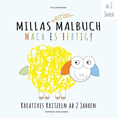 MILLAS KRITZEL MALBUCH - Mach es Fertig!: Kreatives kritzeln ab 2 ...
