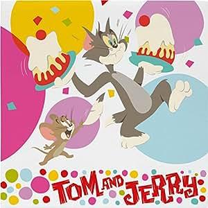 BBS 117823–Tom and Jerry Cake servilletas, 2capas, 33x 33cm