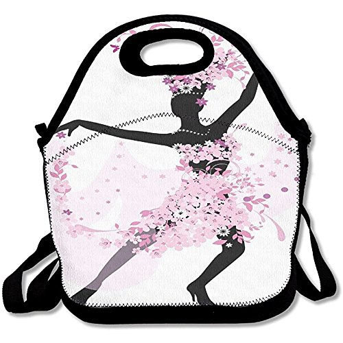 Staroind Dancing Samba Salsa Latin Dances Spain Lunch Bag Tote For School Work Outdoor by Staroind