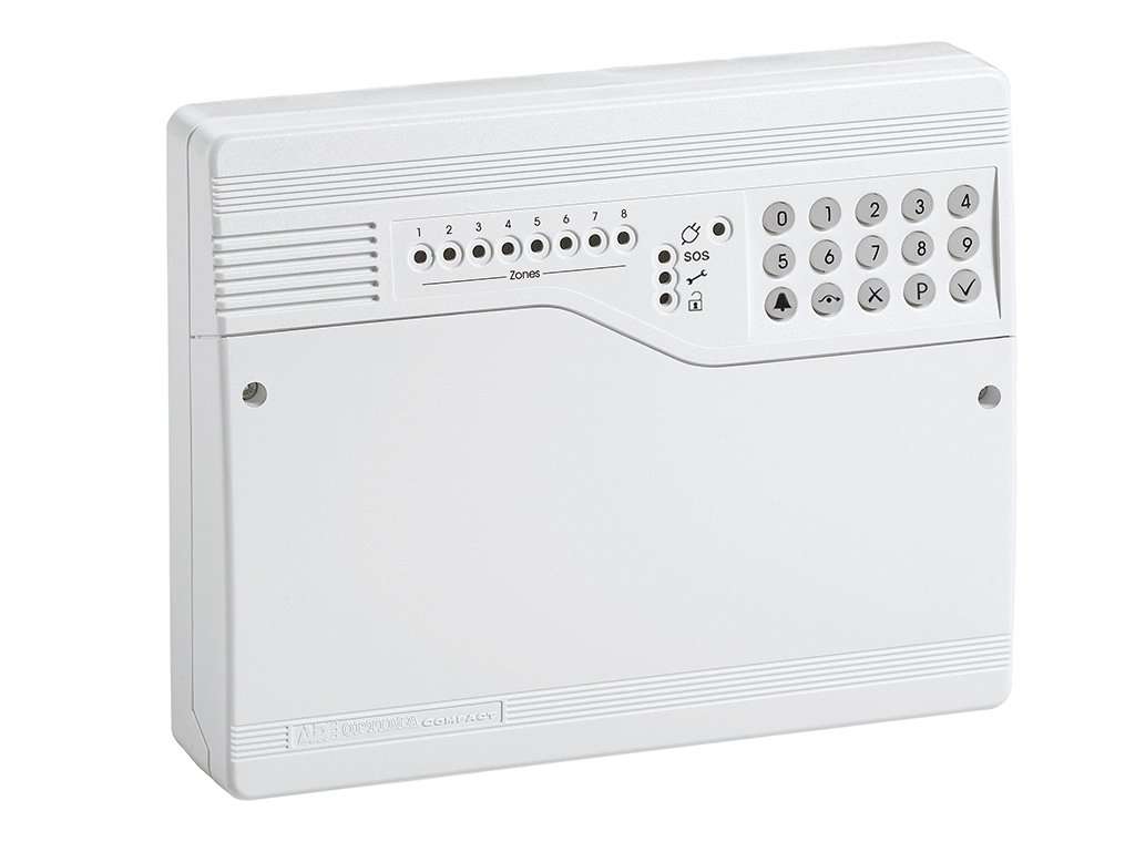 Ade Honeywell Intruder Burglar Alarm Kitchen Home Veritas Bell Box Wiring Optima Control Panel Paoptimagen4