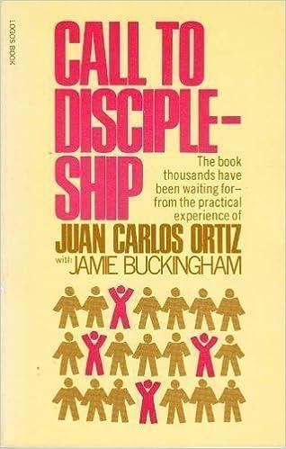 Book Call to Discipleship by Jamie Ortiz Juan Carlos; Buckingham (1975-05-03)