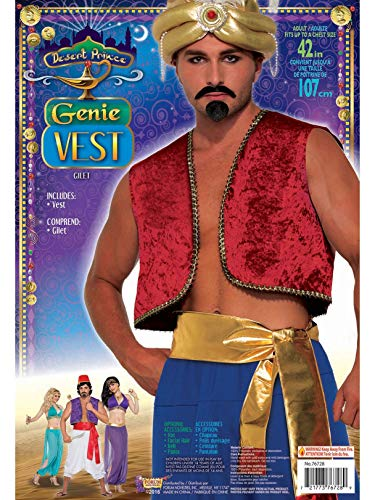 Forum Novelties Men's Red Genie -