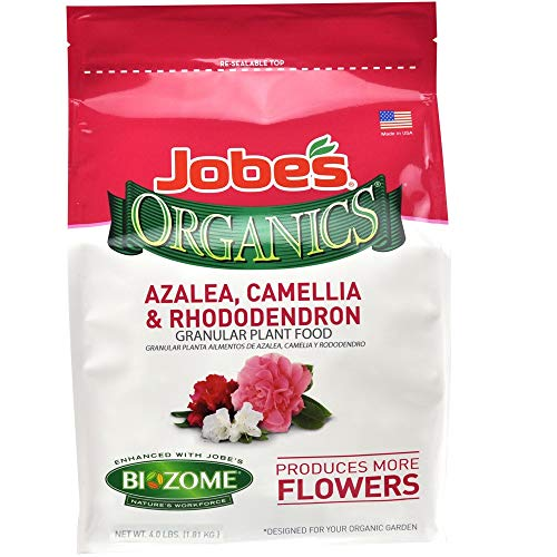 Jobe's Organics 9826 Fertilizer, 4 lb (Best Soil For Azaleas)