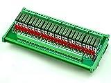 ELECTRONICS-SALON Slim DIN Rail Mount DC12V Sink/NPN 24 SPST-NO 5A Power Relay Module, PA1a-12V