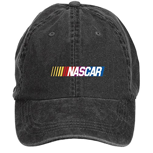 Dotion Unisex NASCAR Logo Design Baseball Caps
