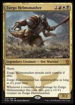 Magic: the Gathering - Zurgo Helmsmasher - Khans of Tarkir