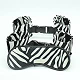 AnHua3pcs/Set Black White Leopard Adult Game Toy Eyeshade+Handcuff+Footcuff Sexy Product Set For Women