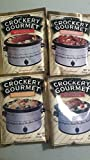 Crockery Gourmet Meat Seasoning Variety Pack - 1 of Each of 4 Flavors: Beef, Chicken, Pork and BBQ