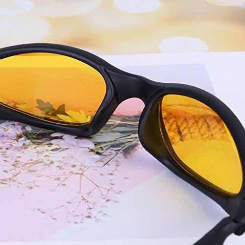 Gafas polarizadas Protección verde Lergo de Verde Deportiva Hombre para Sol Nocturna Visión 16CwCdq
