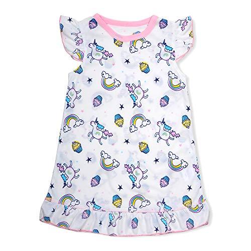 Girls Unicorn/Mermaid/Watermelon Nightgowns Princess Nightdress Pajamas Sleepwear Dress for Kids ()
