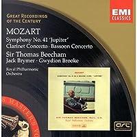 "Symphony No. 41 ""Jupiter; Clarinet Concerto; Bassoon Concerto (Rpo, Beecham)"