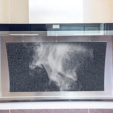 2 Filtro de carb/ón Filtro de carb/ón activado Campana extractora para hidromasaje de Bauknecht 481281728343 484000008579 CHF210//1 210 mm B210