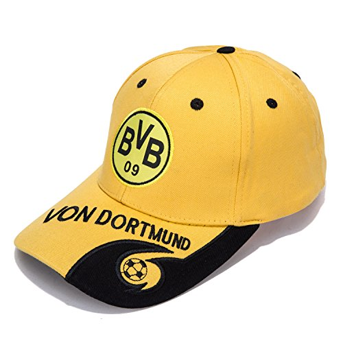 Borussia Dortmund F.C. -Embroidered Authentic EPL Adjustable Yellow Baseball Cap – DiZiSports Store