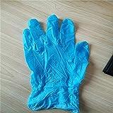 WAFamily 50PCS Disposable Nitrile Vinyl Gloves