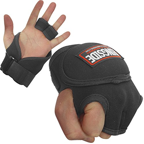Ringside Aerobic Fitness Cardio Sculpting MMA Muay Thai Boxing Hand Speed Strength Weighted Gloves 2 & 4 lbs. (Pair)