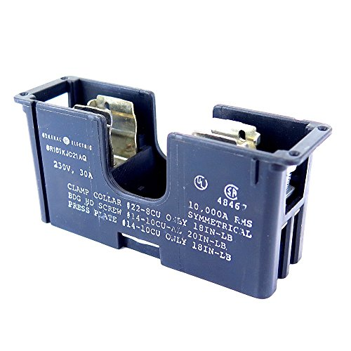 GENERAL ELECTRIC CR151KJC21AQ Fuse Block 30A 1P Class RK1, RK5, H Fits 30A (Block 250v Fuse)