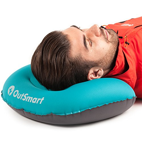 Inflatable Camp Pillow By Outsmart Ultralight