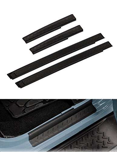 Wrangler Jk Unlimited 4 Door (Opar Door Entry Guards Door Sill for 2007 - 2018 Jeep JK Wrangler Unlimited 4-Door)