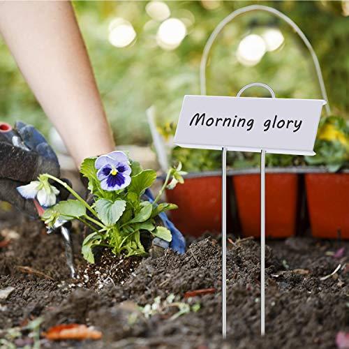 "Startostar 30-Pack Metal Plant Labels, 10.6"" Garden Markers Reusable Nursery Tags for Vegetables Herb Flower Greenhouse by Startostar"