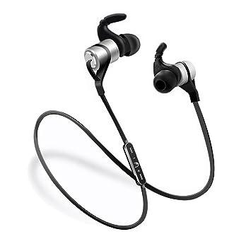 Nicole Bluetooth Auriculares 4.1 gancho de canal de Fit estéreo impermeable Movimiento; Auriculares inalámbricos atracción