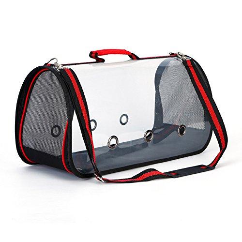 BeesClover Portable Transparent Pet Handbag Carrier Comforta