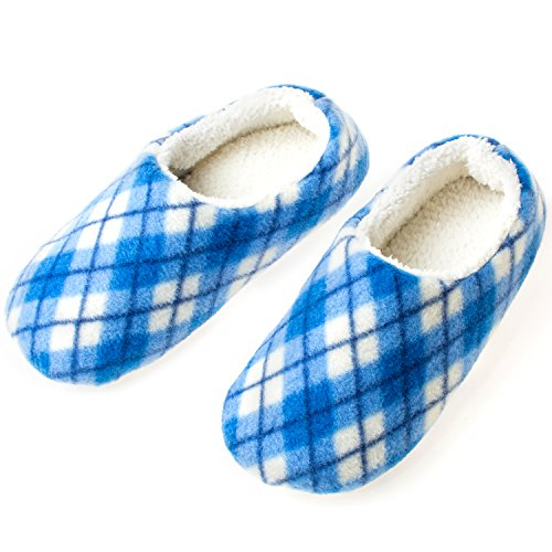 YQXCC Women's Slippers Comfortable Warm Memory Foam Soft Soles Indoor Outdoor Anti-slip House Slippers