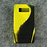 Case for SnowWolf Snow Wolf 200w Mod Silicone Skin Sleeve Skin Wrap Cover Sticker (yellow/black)