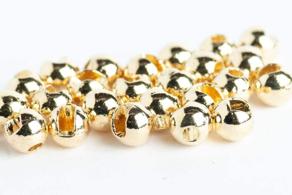"""25 Premium GOLD 2.4mm  3//32/""""/""""  Beads Bead Heads for Fly Tying"""