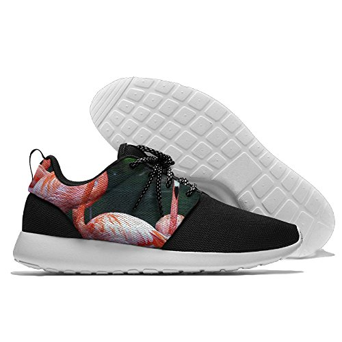 Pink Flamingo Swimming Absorption Slip-On Toning Fitness Sneakers Lightweight Sports Shoes - Watch Online Pink Flamingos