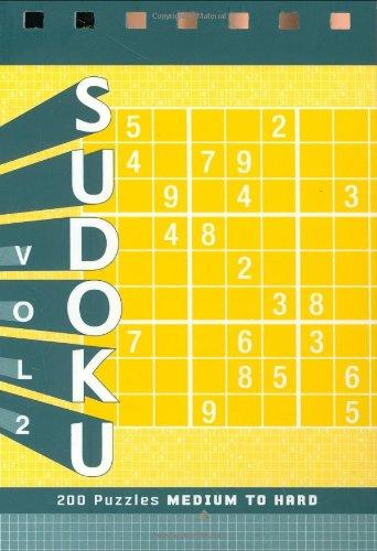 Sudoku Puzzle Pad: Medium to Hard: - Pads Sudoku Puzzle