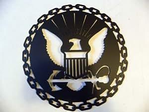 Amazon.com: United States Navy USN Military Metal Wall Art ...