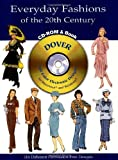 Everyday Fashions of the 20th Century, Tom Tierney, 0486995445