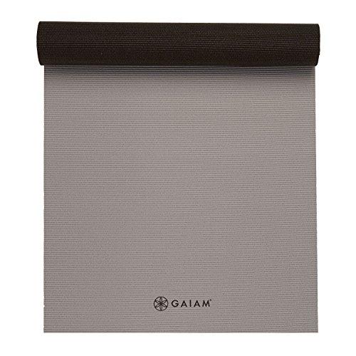 Gaiam Yoga Mat Premium Solid Solid Solid Farbe Reversible Non Slip Exercise & Fitness Mat... 8ccb73