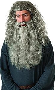 Rubie's The Hobbit Thorin Hair Kit, Black/Grey Streak, One