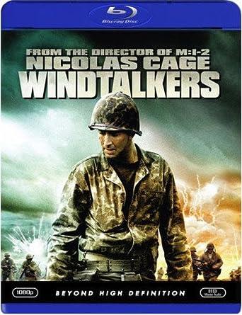 Amazon com: Windtalkers [Blu-ray]: Nicolas Cage, Adam Beach