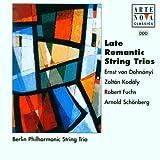 Late Romantic String Trio