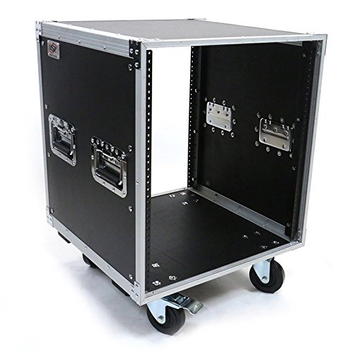 OSP 12 Space Deluxe Studio Rack with Handles and Casters KD12U