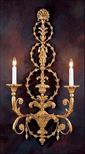 Decorative crafts 1895 Carved Wood Sconce ()