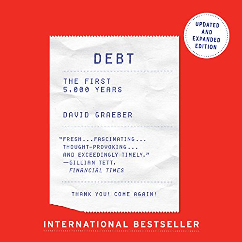 Debt - Updated and Expanded: The First 5,000 Years cover