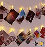 Best Gift For Colleges - 30 LED Photo Clips String Lights Decorations Lights Review